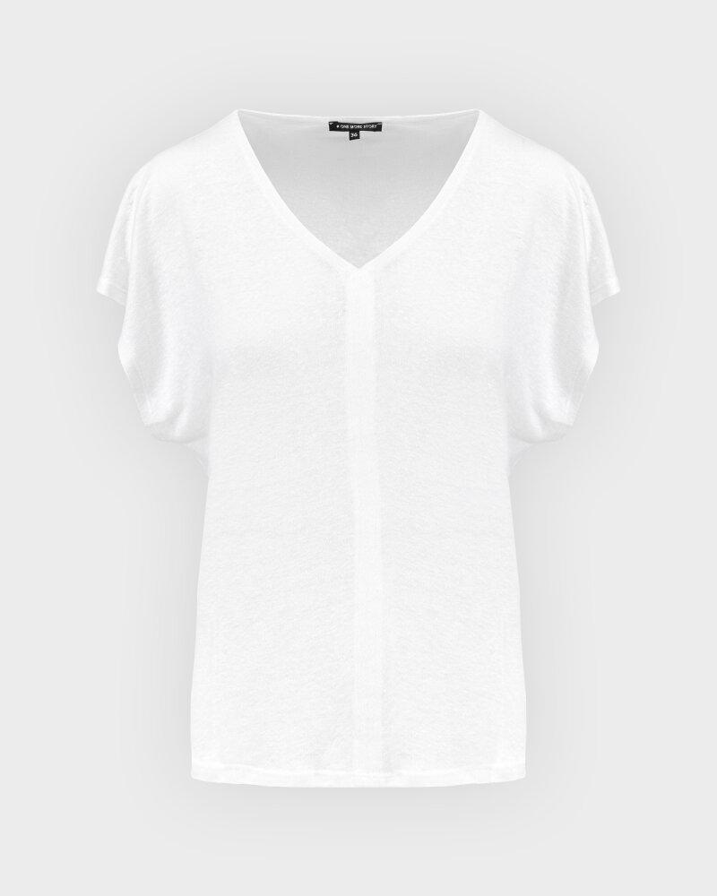 T-Shirt One More Story 101614_1001 biały - fot:1