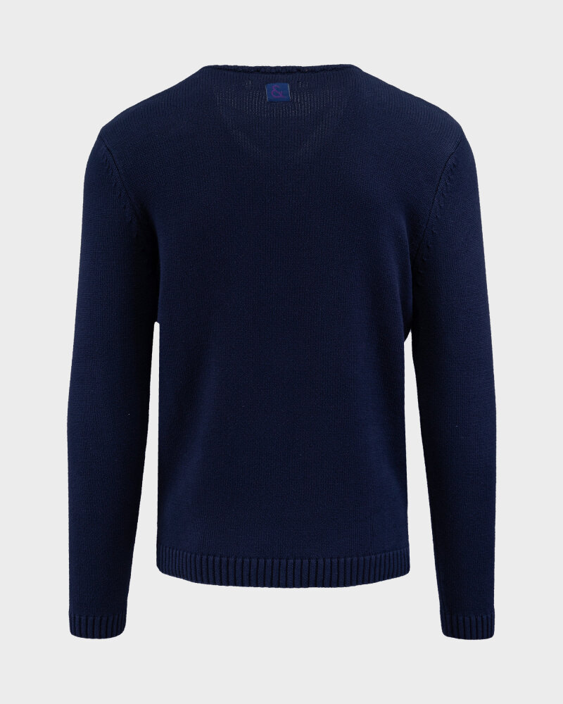 Sweter Colours & Sons 9121-138_911 PALMS granatowy - fot:5