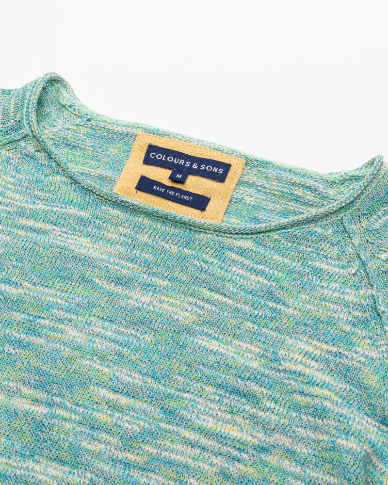 Sweter Colours & Sons 9121-180_902 COMBO2 zielony - fot:2