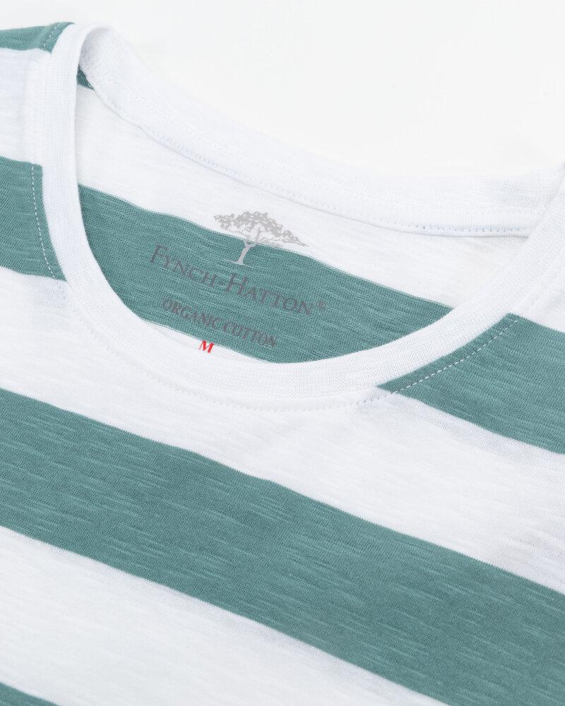 T-Shirt Fynch-Hatton 11211603_1008 biały - fot:2