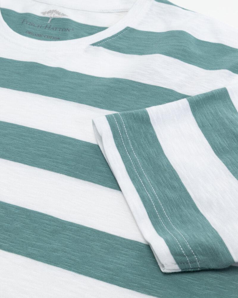 T-Shirt Fynch-Hatton 11211603_1008 biały - fot:3