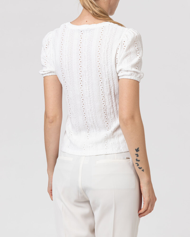 T-Shirt One More Story 101622_1001 biały - fot:4