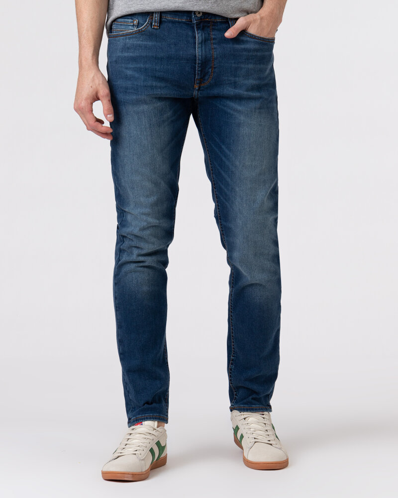 Spodnie Mustang 1008949_5000783 niebieski - fot:2