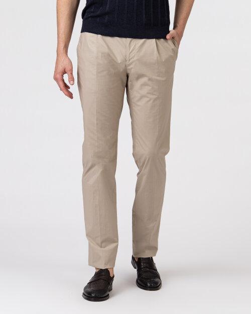 Spodnie Lardini EL30608_ELA56433_200 beżowy