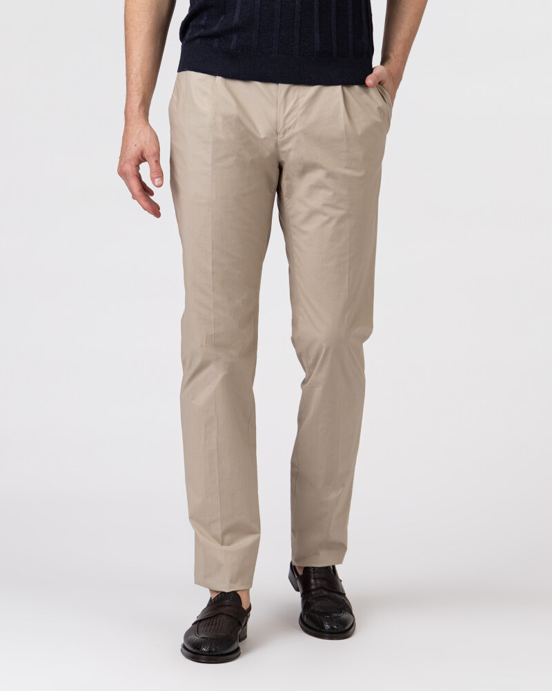 Spodnie Lardini EL30608_ELA56433_200 beżowy - fot:2