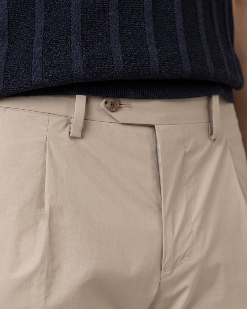 Spodnie Lardini EL30608_ELA56433_200 beżowy - fot:3