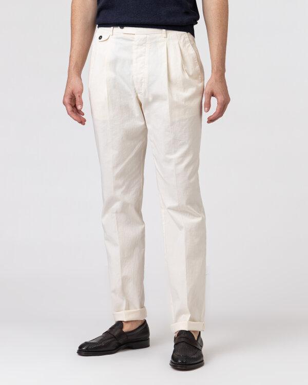 Spodnie Lardini ELTEBE5_EL56088_150C kremowy