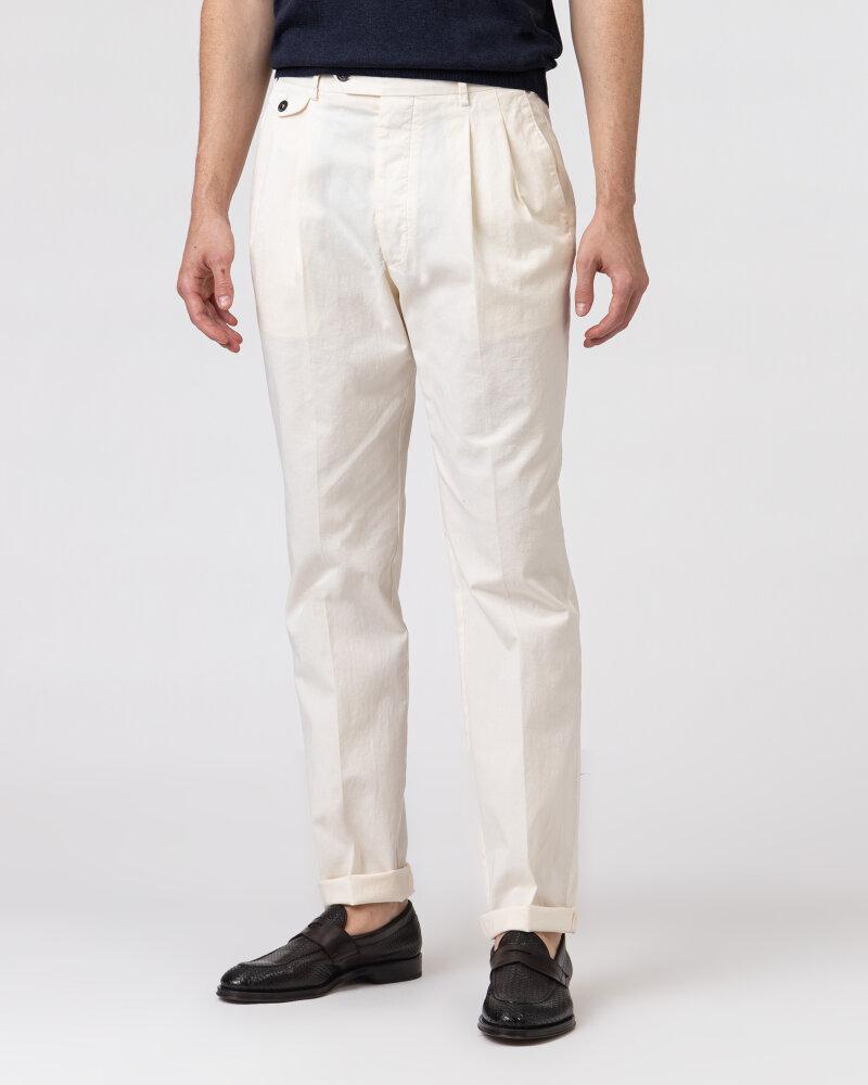 Spodnie Lardini ELTEBE5_EL56088_150C kremowy - fot:2