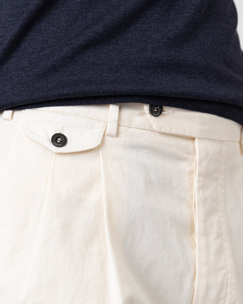 Spodnie Lardini ELTEBE5_EL56088_150C kremowy - fot:3