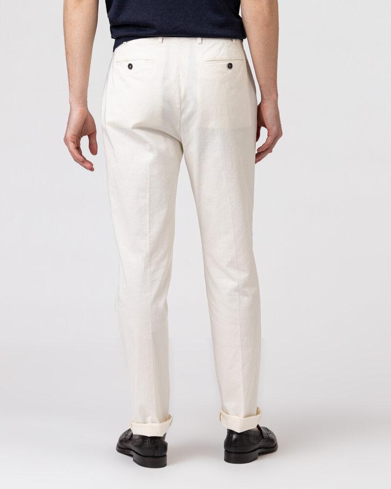 Spodnie Lardini ELTEBE5_EL56088_150C kremowy - fot:5