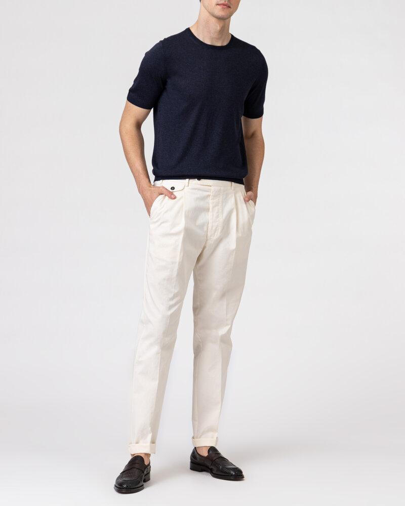 Spodnie Lardini ELTEBE5_EL56088_150C kremowy - fot:6