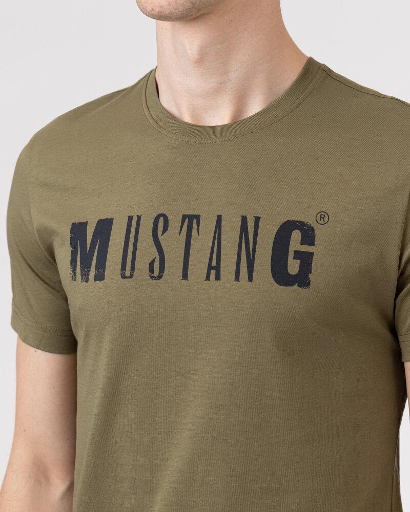 T-Shirt Mustang 1005454_6358 zielony - fot:3