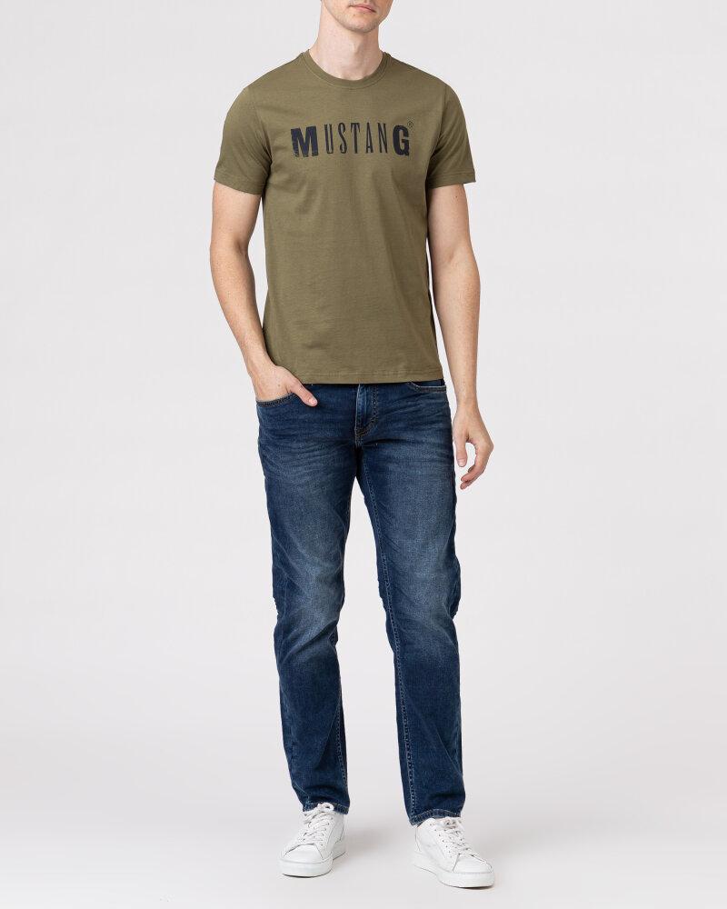 T-Shirt Mustang 1005454_6358 zielony - fot:5