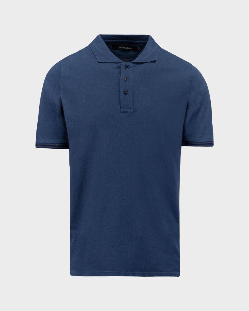 T-Shirt Mustang 1010689_5229 niebieski - fot:1