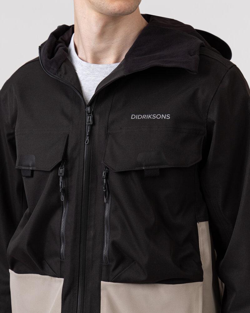 Kurtka Didriksons 503642_Stig Men's Jacket_403 czarny - fot:3