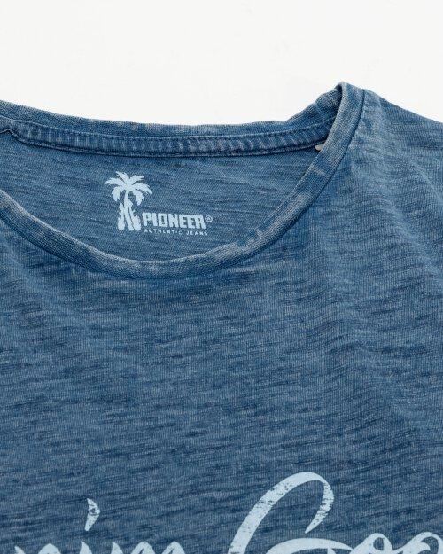 T-Shirt Pioneer Authentic Jeans 07374_04574_578 niebieski