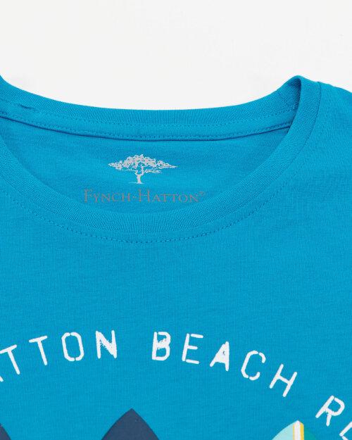 T-Shirt Fynch-Hatton 11211606_1671 niebieski
