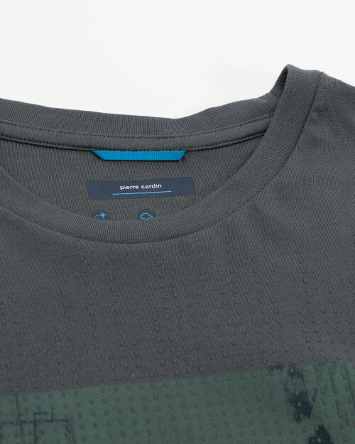 T-Shirt Pierre Cardin 11272_52610_6007 biały