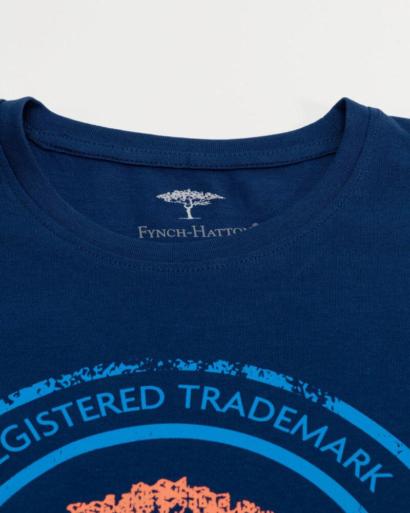 T-Shirt Fynch-Hatton 11211605_1669 niebieski - fot:2