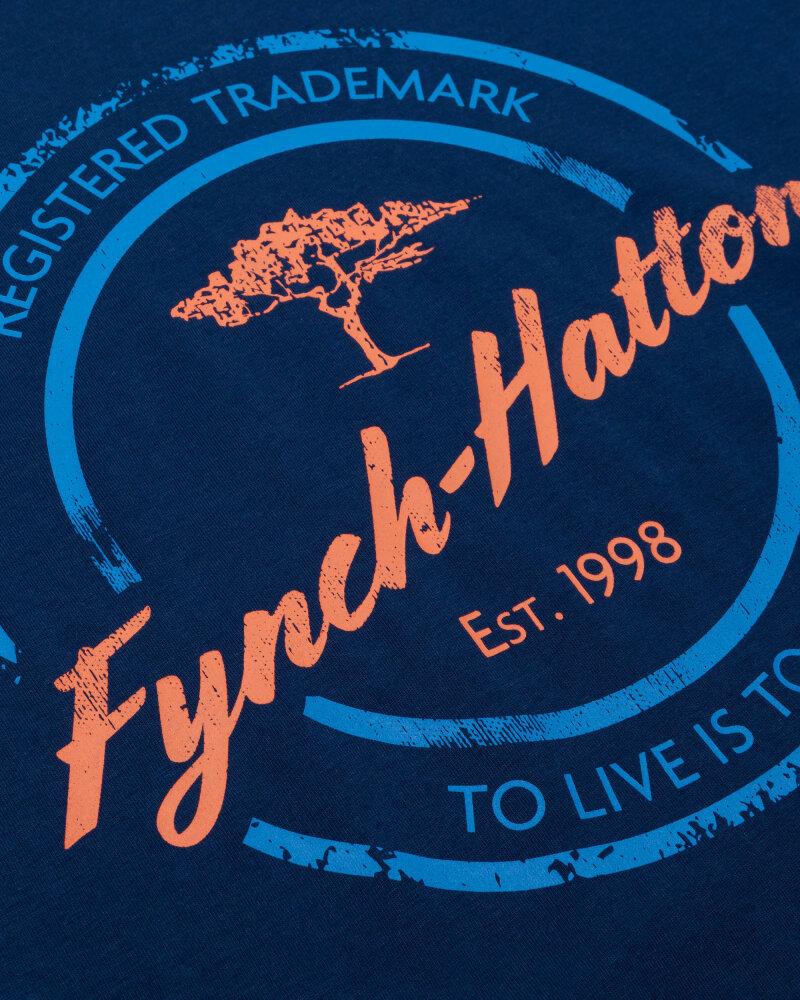 T-Shirt Fynch-Hatton 11211605_1669 niebieski - fot:3
