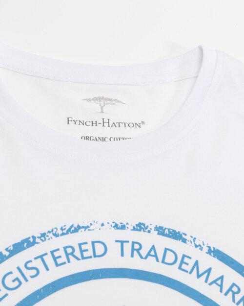 T-Shirt Fynch-Hatton 11211605_1009 biały