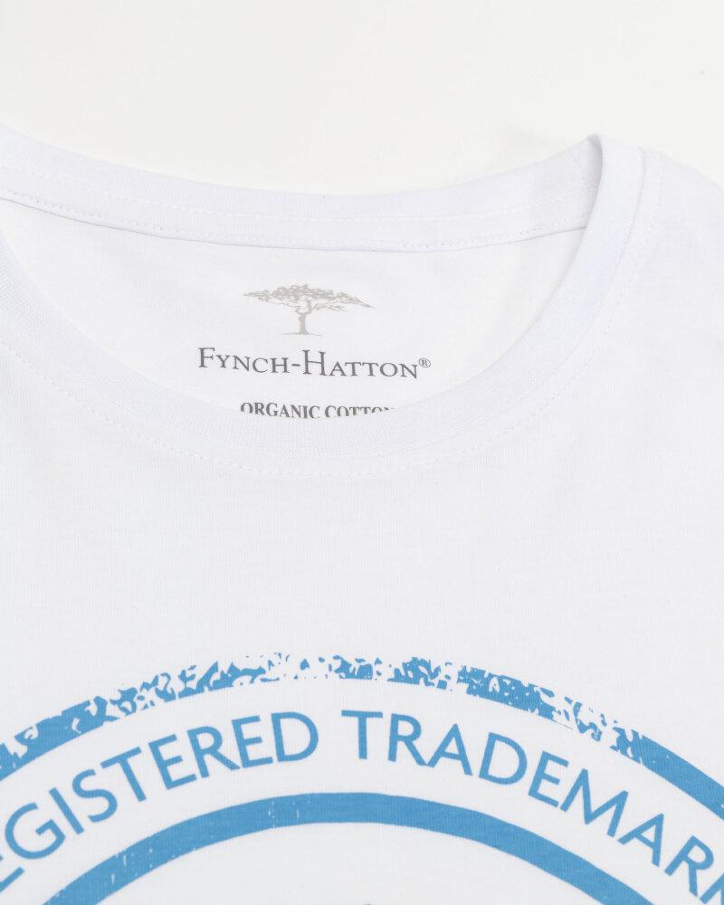 T-Shirt Fynch-Hatton 11211605_1009 biały - fot:2