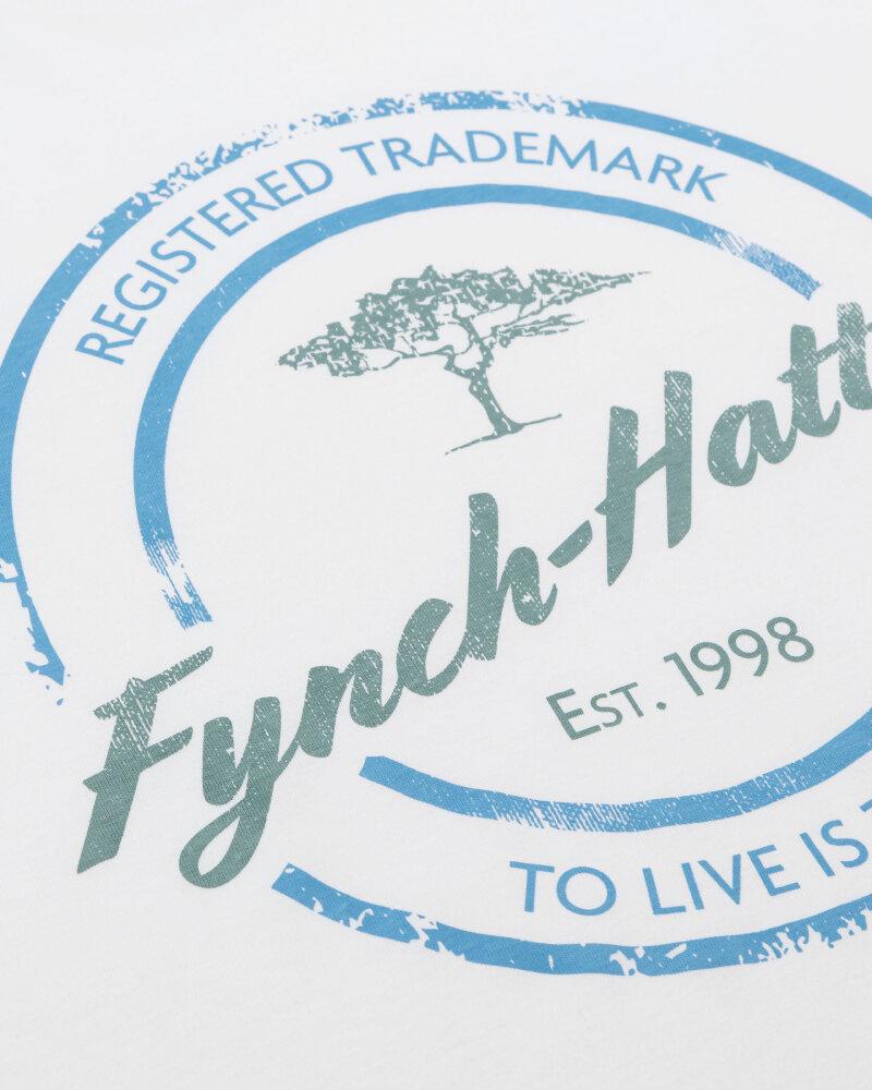 T-Shirt Fynch-Hatton 11211605_1009 biały - fot:3