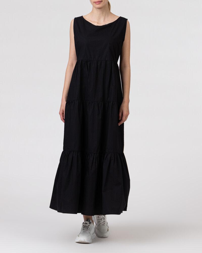 Sukienka Woolrich CFWWDR0074FRUT1509_100 czarny - fot:2