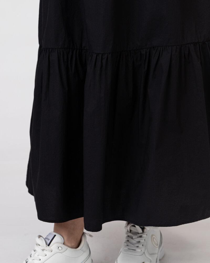 Sukienka Woolrich CFWWDR0074FRUT1509_100 czarny - fot:4