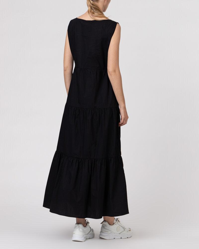 Sukienka Woolrich CFWWDR0074FRUT1509_100 czarny - fot:5