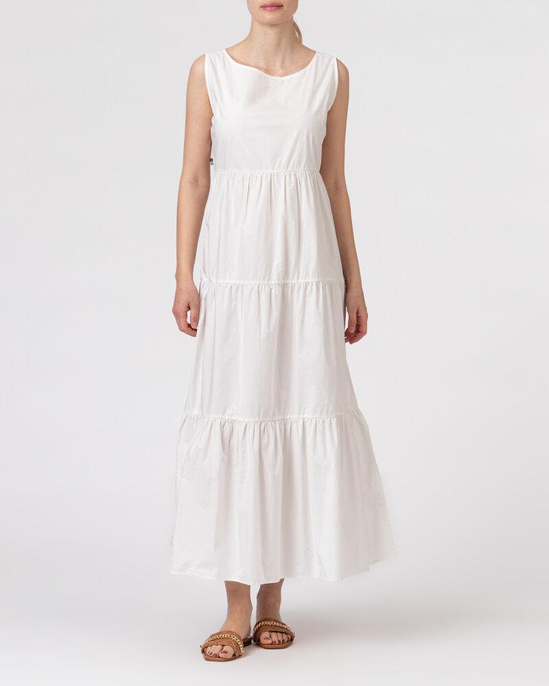 Sukienka Woolrich CFWWDR0074FRUT1509_800 biały - fot:2