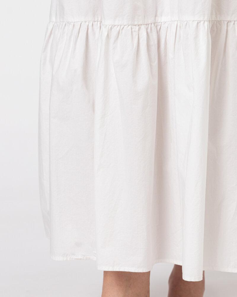 Sukienka Woolrich CFWWDR0074FRUT1509_800 biały - fot:4