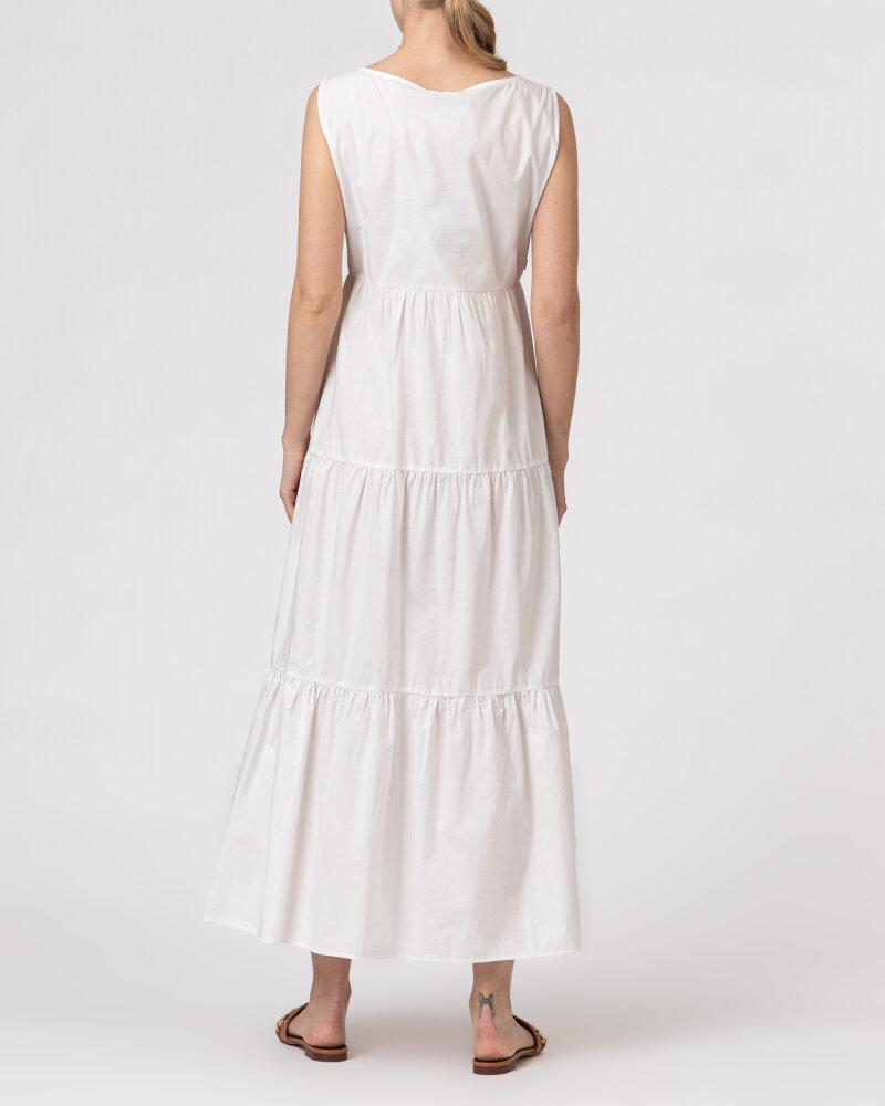 Sukienka Woolrich CFWWDR0074FRUT1509_800 biały - fot:5