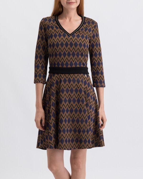 Sukienka Trussardi Jeans 56D00285_1T003058_U290 brązowy