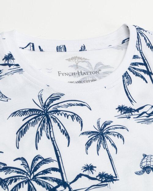 T-Shirt Fynch-Hatton 11211606_1011 biały