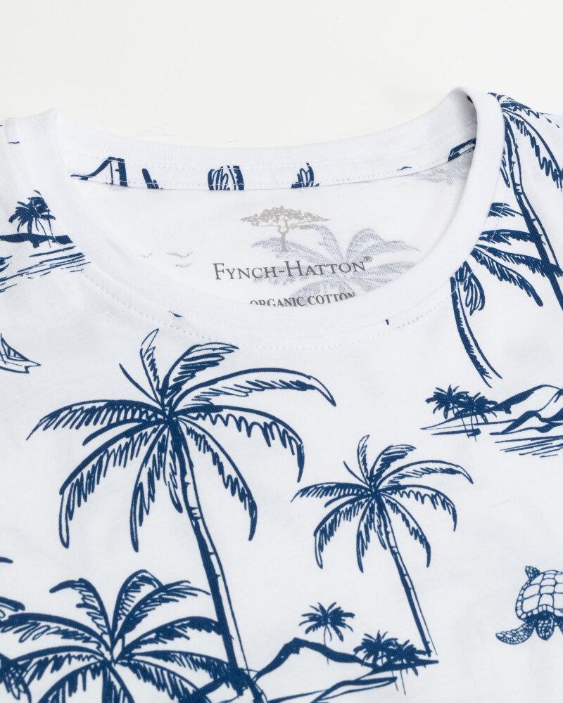 T-Shirt Fynch-Hatton 11211606_1011 biały - fot:2