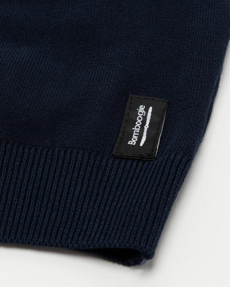 Sweter Bomboogie MM7014_KTP2_205 granatowy - fot:3