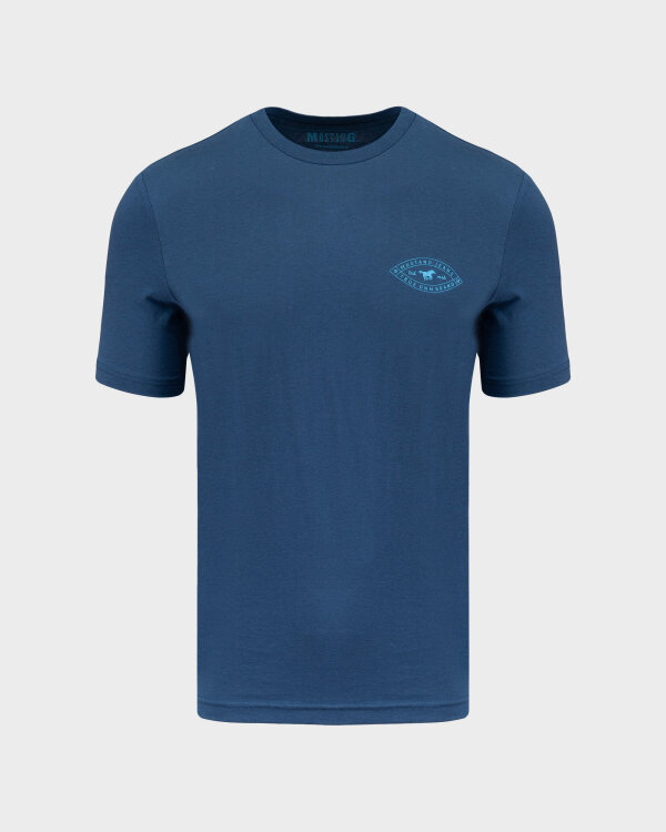 T-Shirt Mustang 1010696_5229 niebieski