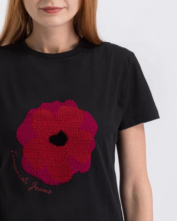 T-Shirt Trussardi Jeans 56T00219_1T003062_K299 czarny