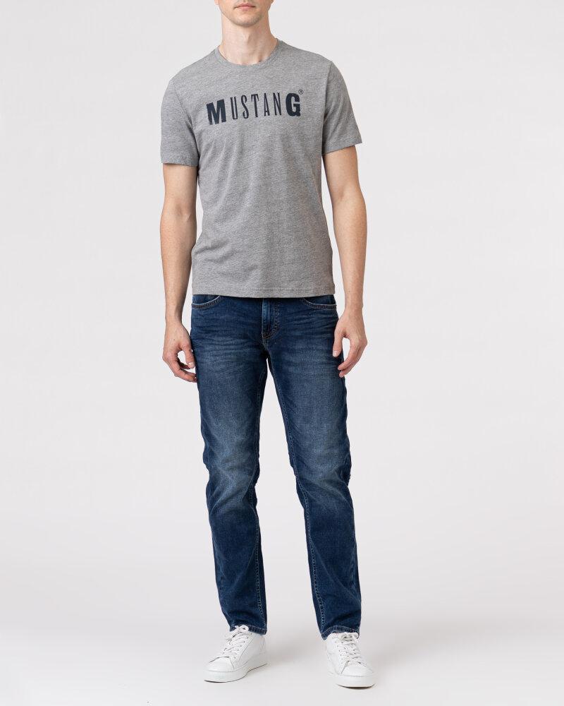 T-Shirt Mustang 1005454_4140 szary - fot:5