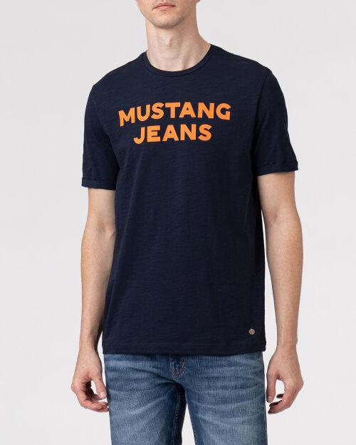 T-Shirt Mustang 1010711_4136 granatowy