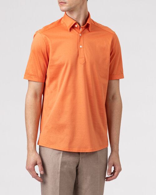 Koszula Eton 1000_01693_45 pomarańczowy