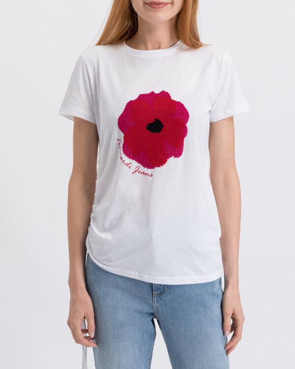 T-Shirt Trussardi Jeans 56T00219_1T003062_W001 biały