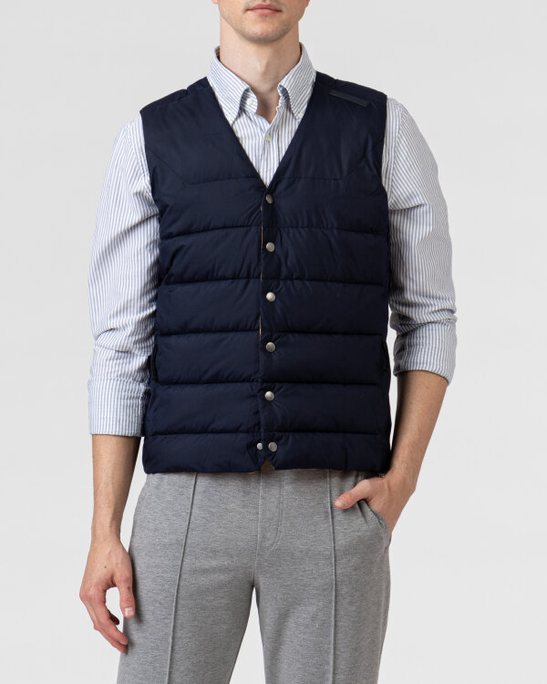 Kamizelka Didriksons 503025_Vidar Men's Vest_999 granatowy