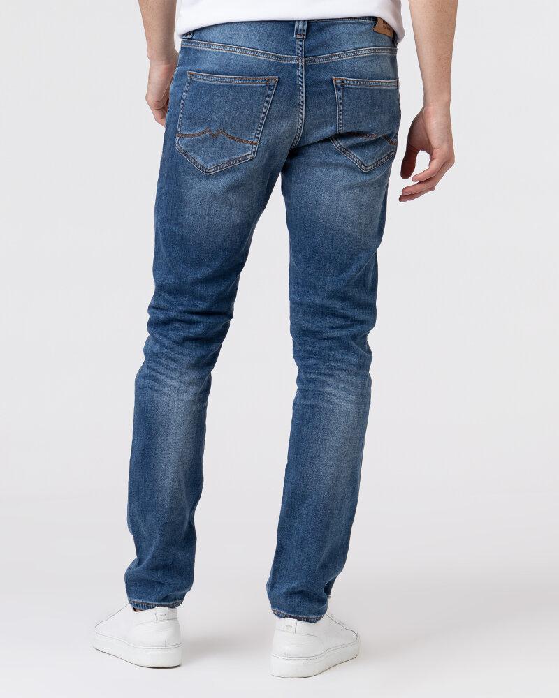 Spodnie Mustang 1006064_5000313 niebieski - fot:4