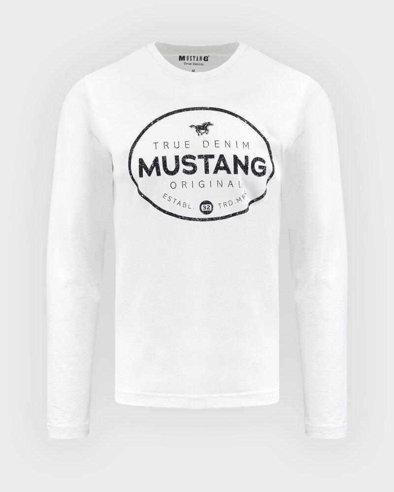T-Shirt Mustang 1010690_2020 biały - fot:1