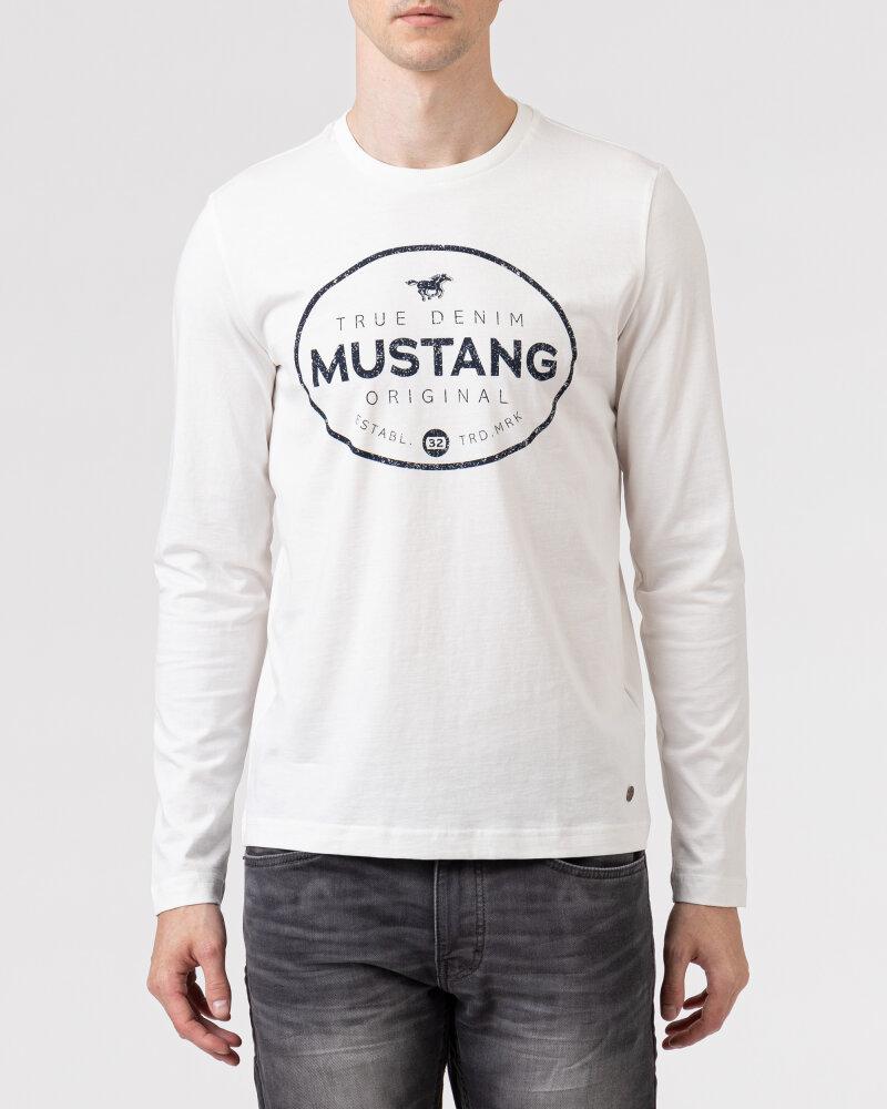 T-Shirt Mustang 1010690_2020 biały - fot:3