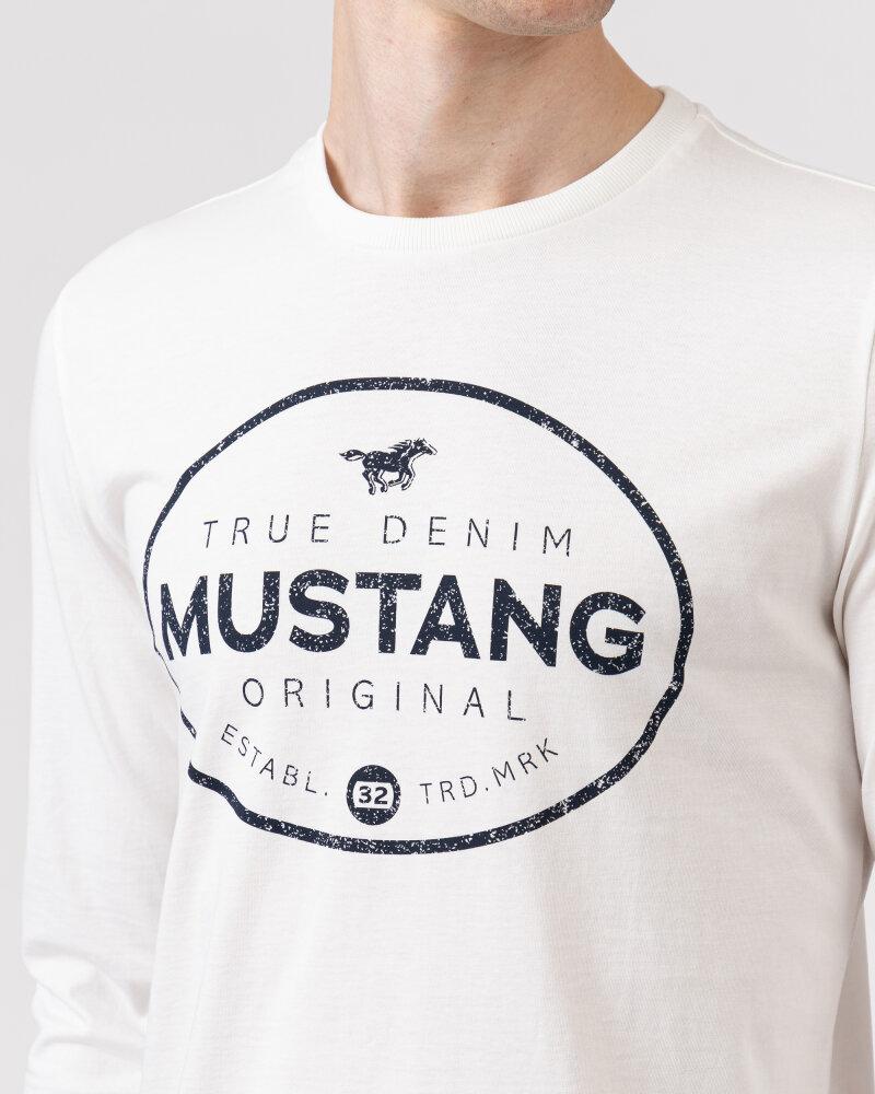 T-Shirt Mustang 1010690_2020 biały - fot:4