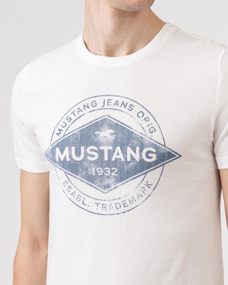 T-Shirt Mustang 1010706_2020 biały - fot:3