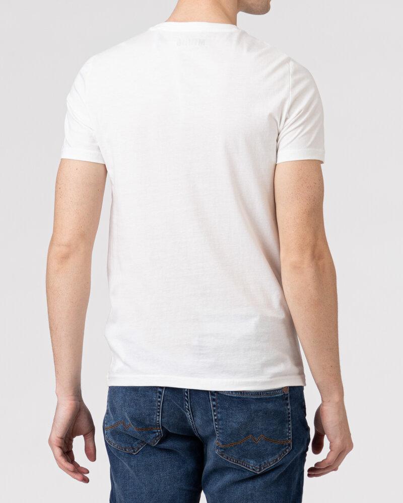 T-Shirt Mustang 1010706_2020 biały - fot:4